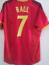 Raúl 7 2002-2004 España Hogar Camiseta De Fútbol Talla XL/41646