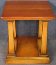 REH Kennedy Classic Cherry Wood Square Lamp / Occasional / Side Table Model 5000