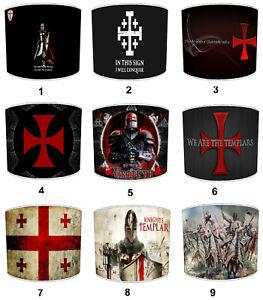 Caballeros Templario Cruzadas Pantallas, Ideal Para Combinar Funda de Edredón