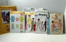 Lot 5 CHILDREN'S CLOTHING SEWING PATTERNS - Uncut