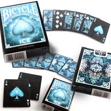 Bicycle Ice Playing Cards Single Deck Stunning Design Poker Magic Sealed