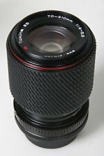 Tokina 70-210mm, f/4-5.6. Canon FD Mount
