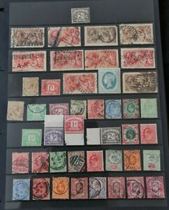 SMALL COLLECTION OF GB STAMPS MINT AND USED