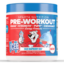 Sparta Nutrition Pre Workout ICEE & Smarties - (40 Scoops) + FREE SHIPPING