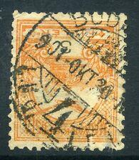 Hungría; 1900 temprana Turul cuestión Fine Used 3f. valor Matasellos