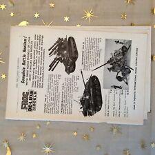 g1k ephemera vintage advert frog models walker bulldog skysweeper ontos