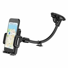 Soporte para teléfono Móvil Ventana de Coche GPS Montaje Base universal de panel de control de brazo flexible
