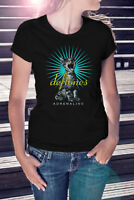 DEFTONES ADRENALINE Women Black T-Shirt Metal Band Tee Rock Shirt Screaming Cat
