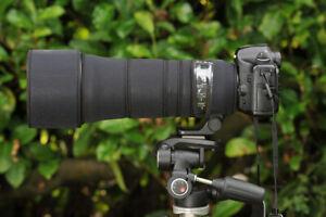 Sigma 150 600mm CONTEMPORARY Protection Neoprene lens cover Black Premium