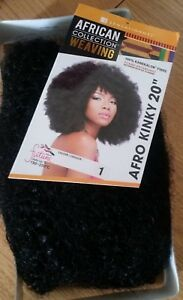 Sensationnel Afro Kinky Weave - Different Colours and Length