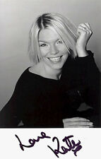 Kate Thornton, X Factor, Loose Women, signed 5.5x3.5 inch photo. COA.
