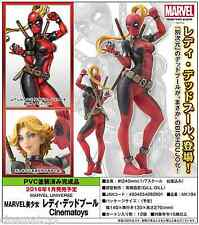MARVEL BISHOJO Sexy Statue LADY DEADPOOL 1/7 Scale Enmascarado & Unmasked Figure
