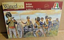 ITALERI BRITISH ARTILLERY WATERLOO 1:72 SCALE MODEL SOLDIERS ARMY CANNONS GUNS