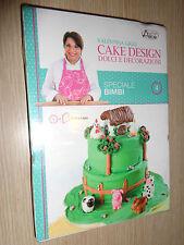 DVD + LIBRO N° 4 DOLCI E DECORAZIONI CAKE DESIGN VALENTINA GIGLI SPECIALE BIMBI