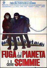 CINEMA-manifesto FUGA DAL PIANETA DELLE SCIMMIE dillman, hunter, mineo, TAYLOR