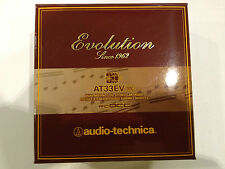 Audio-Technica AT33EV 0.3mV Low Output Moving Coil Cartridge, Best Buy