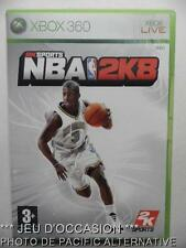 OCCASION: Jeu NBA 2K8 xbox 360 microsoft game francais 2008 basket sport action