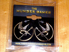 Hunger Games MOCKINGJAY HOOP STYLE EARRINGS