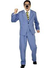 NEW TV Adult Danger Mouse Penfold Hamster Blue Fancy Tux Business Suit COSTUME