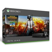 NEW Microsoft Xbox One X 1TB PUBG Console Bundle System Factory Sealed!