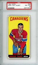 1964-65 Topps #52 Jean-Guy Talbot PSA 8 NM-MT Montreal Canadiens