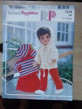 "Vintage Knitting Pattern:Garments for 17"" Doll: Trousers, Sweater, Hoodie etc"
