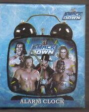 WWE SMACKDOWN ALARM CLOCK 2009 NEW AND BOXED
