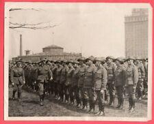 1918 Australian Anzacs to Aide Loan Drive New York City Original News Photo