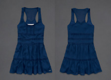 Abercrombie & Fitch KIDS A&F girl's CAMILLE navy sun dress L LARGE NWT