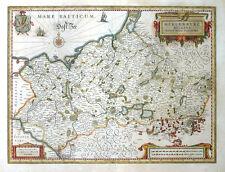 DEUTSCHLAND MECKLENBURG VORPOMMERN DUCATUS JOHANNES LAURENBERG WAPPEN BLAEU 1640