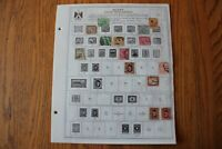 M57 Lot of Egypt Stamps on 7 Minkus binder Pages