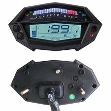 Universal Motorcycle LCD Tachometer Speedometer Odometer Gauge 15000RPM LA