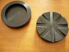 Auflageteller Aufnahmeplatte Gummiteller Vollgummiteller Lift Pad Rotary 125x26