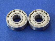2 Stück 608 ZZ (2Z) 8x22x7 mm Kugellager, Rillenkugellager, Miniatur