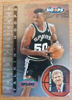 DAVID ROBINSON 1997-98 Skybox NBA Hoops Talkin' Hoops Insert #22 Spurs HOF