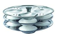 Stainless Steel 3 Plates Idli Stand Maker Plates Free Shipping