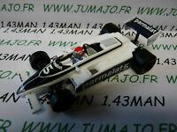 Voiture 1/43 QUARTZO : FORMULE 1 F1 :BRABHAM BT 49C Nelson Piquet 1981