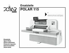polar paper cutters trimmers for sale ebay rh ebay com Heidelberg Polar Cutter Parts Polar 115 Cutter