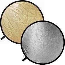 Impact Reflector Disc Gold/Silver - 12