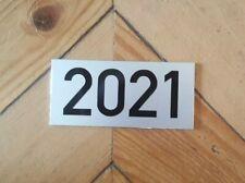 Hausnummer Zahl Nummer Schild silber eloxiert mit 4-stelliger Wunschzahl