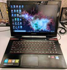 Y40-70 (Intel I7-5500U 2.4GHZ , 1TB SSD, 12 GB RAM, AMD R9 M275X 4GB)
