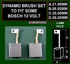 DYNAMO BRUSHES BRUSH SET TO FIT SOME 12 VOLT 12V BOSCH UNITS 1107014128 BX1652