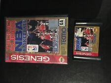 TECMO SUPER NBA BASKETBALL BOXED SEGA GENESIS GAME TESTED & WORKING