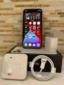 Apple iPhone 11 Pro - 256GB - Silver (Unlocked) A2160 (CDMA + GSM) Apple Care +