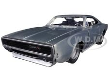 "DOM'S 1970 DODGE CHARGER R/T BARE METAL ""FAST & FURIOUS 7 "" 1/24 BY JADA 97336"