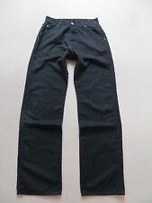 G-Star NEW UNION Stoff- Jeans Hose, W 29 /L 34, Schwarz, mit Knopfleiste, Weit !