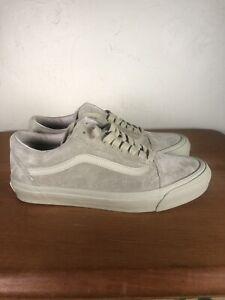 Vans Originals Old School Gray Suede M 9 US|W 10.5