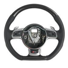 Carbon cuero-volante adecuado para audi r8 tipo 42 tiptronic (07-15) Coupe Spyder
