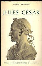 JULES CESAR. JEROME CARCOPINO