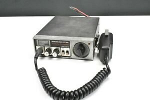 GENERAL ELECTRIC 40 CHANNEL PLL SYSTEM, MODEL 3-5811B Untested AS IS
